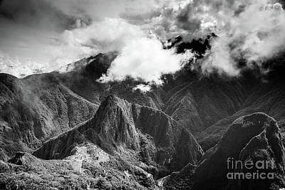 Photograph - Machu Picchu by Olivier Steiner