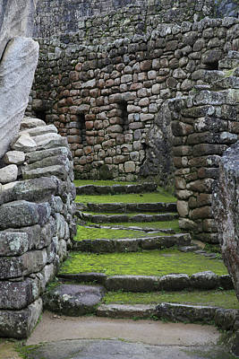 Photograph - Machu Picchu Pathways by John Haldane