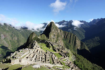 Photograph - Machu Picchu, Peru by Aidan Moran