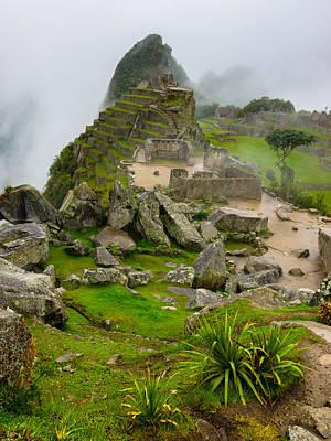 Machu Picchu Peru Art Print by Andre Distel