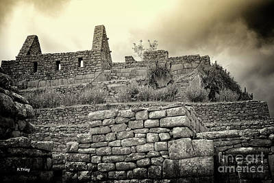 Photograph - Machu Picchu And Her Incan Walls by Rene Triay Photography