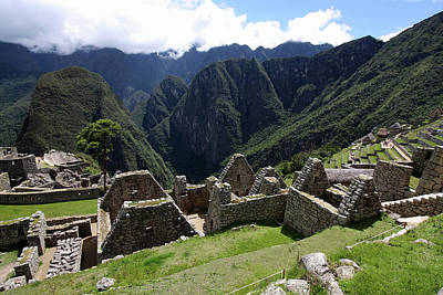 Photograph - Machu Picchu Residential Sector by Aidan Moran