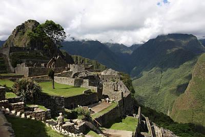 Photograph - Machu Picchu Residential Sector, Peru by Aidan Moran