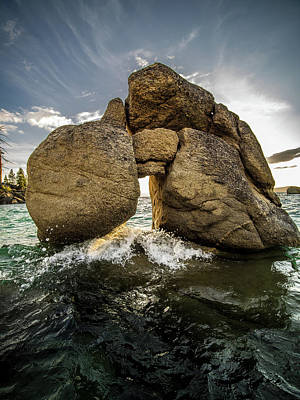 Photograph - Machu Picchu Rock by Martin Gollery