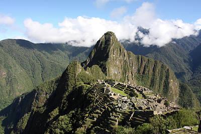 Photograph - Machu Picchu Ruin, Peru by Aidan Moran