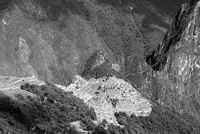 Photograph - Machu Picchu View From The Inca Trail by Aidan Moran
