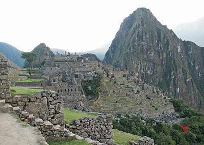 Digital Art - Machu Pichu by David Jenkins