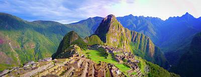 Photograph - Machupicchu Peru by Carmen Tosca