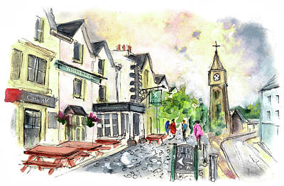 Painting - Machynlleth 01 by Miki De Goodaboom