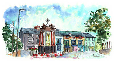 Painting - Machynlleth 02 by Miki De Goodaboom