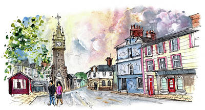 Painting - Machynlleth 03 by Miki De Goodaboom