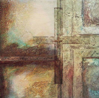 Wall Art - Mixed Media - Macias Cross by Jane Dill