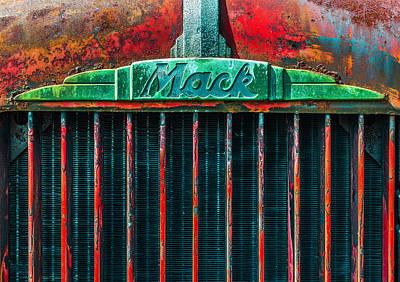 Mack Grill Art Print by Steven Maxx