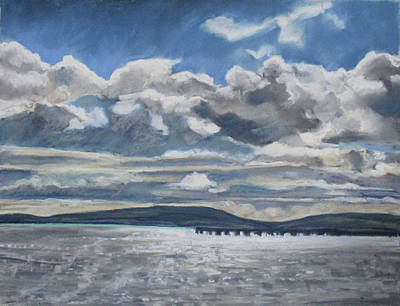 Pastel - Mack Point, Searsport by Grace Keown