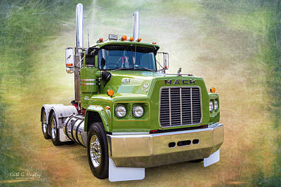 Photograph - Mack Prime by Keith Hawley