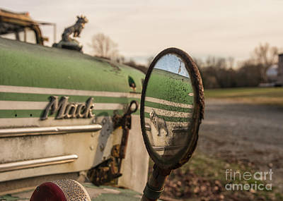 Past Mixed Media - Mack Reflection by Terry Rowe