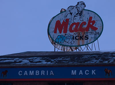 Mack Trucks Art Print by Rick Black