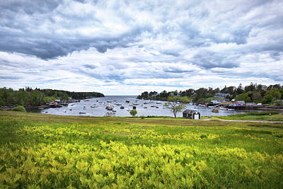 Mackerel Cove, Bailey Island Maine Art Print by Eric Gendron