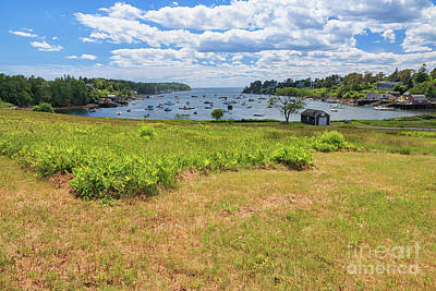 Photograph - Mackerel Cove Maine by Elizabeth Dow
