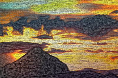 Digital Art - Mackerel Sky by Becky Titus