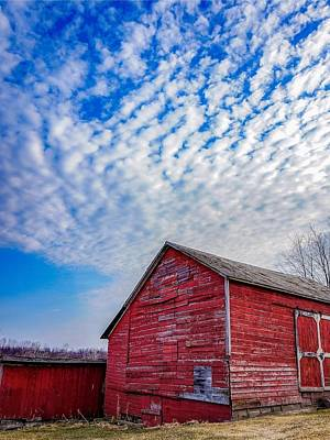 Photograph - Mackerel Sky by Kendall McKernon