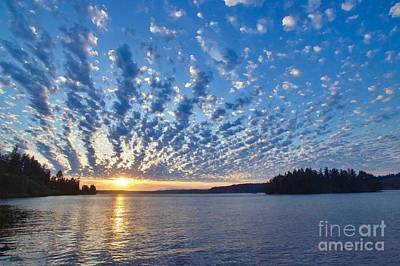 Photograph - Mackerel Sky by Sean Griffin