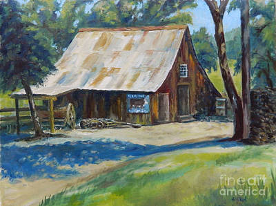 Painting - Mackey's Barn by William Reed