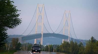Photograph - Mackinac Bridge by Peggy King