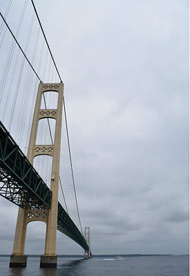 Photograph - Mackinac In Suspension by Gary Smith