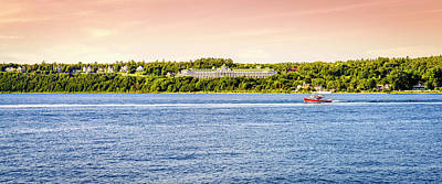 Photograph - Mackinac Island Grand Hotel by Alexey Stiop