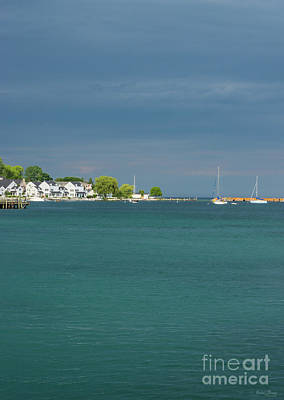 Photograph - Mackinac Island Harbor by Jennifer White