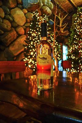 Photograph - Mackinac Island Wine Bottle by Dan Sproul