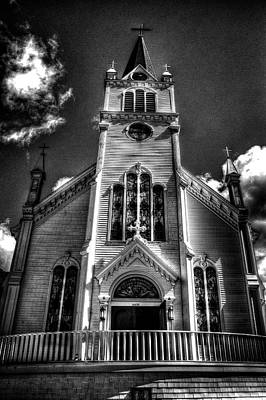 Photograph - Mackinac Island Wooden Church by Roger Passman