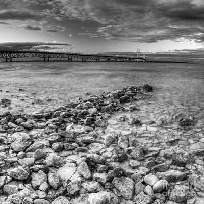 Mackinac Shores Art Print by Twenty Two North Photography