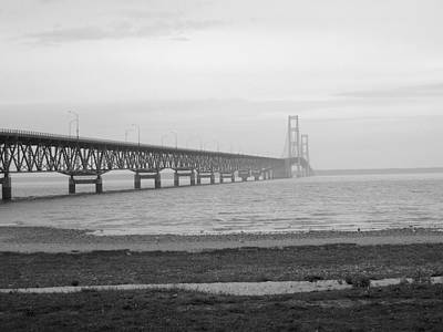 Mackinaw Bridge Art Print