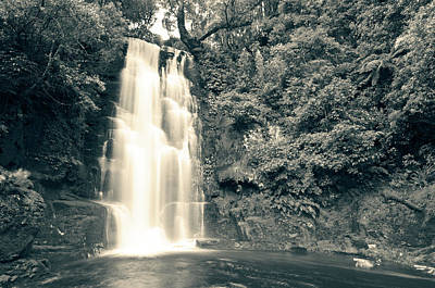 Photograph - Maclean Falls New Zealand by U Schade