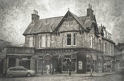 Photograph - Macnaughtons Of Pitlochry. Perthshire. Vintage by Jenny Rainbow