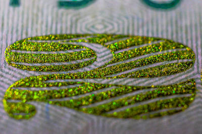 Photograph - Macro Money Dollar 5448 by David Haskett