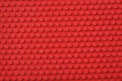 Macro Ping Pong Paddle Texture Art Print by Nic Taylor