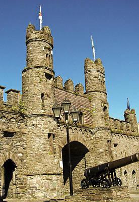Macroom Castle County Cork Ireland Print by Teresa Mucha