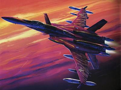 Airplane Digital Art - Macross by Maye Loeser