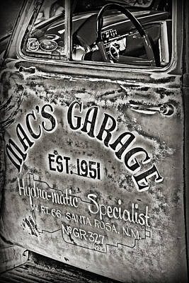 Photograph - Macs Garage by Patricia Montgomery
