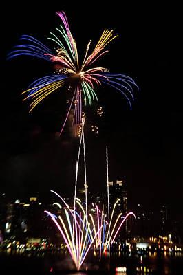 Macy's Fireworks I Art Print by David Hahn