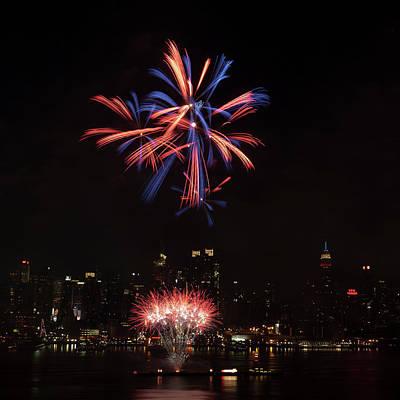 Macy's Fireworks II Art Print by David Hahn