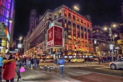Photograph - Macy's Of New York by Dyle Warren