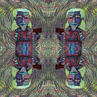 Digital Art - Mad  Cmtm II by Philip Brent