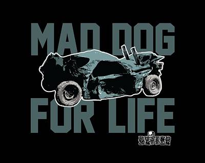 Mad Dog For Life Art Print by George Randolph Miller