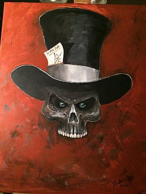 Mad Hatter Painting - Mad Hatter by Matt Martin