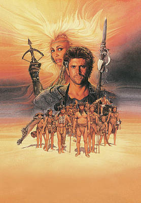 Mystery Digital Art - Mad Max Beyond Thunderdome 1985 by Fine Artist