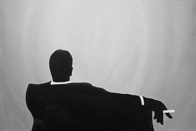 Painting - Mad Men In Noir by John Lyes